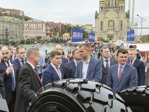 """В конце сентября-начале октября """"Белшина"""" приняла участие в выставках"""