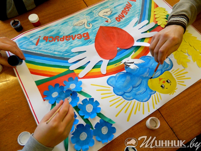Мои детские рисунки и поделки 585