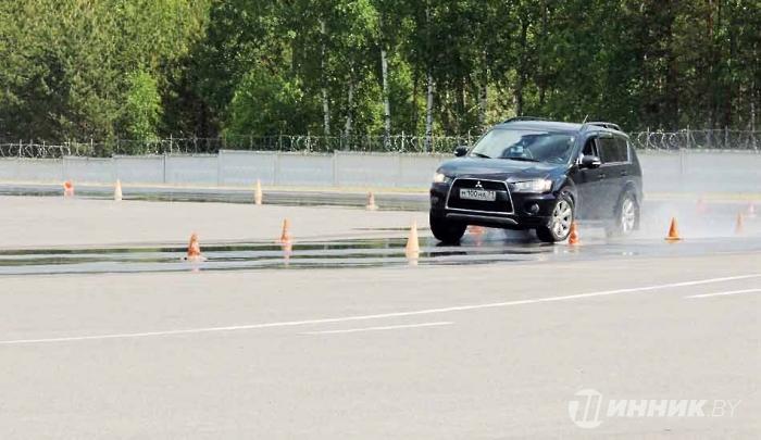 """Борисовские """"Geely"""" протестировали бобруйские шины 1"""
